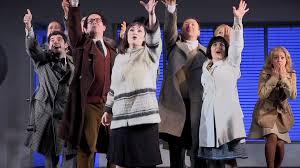 merrily we roll along huntington theatre company