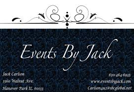 events by jack about us