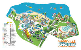 nashville on map cabanas nashville shores waterpark