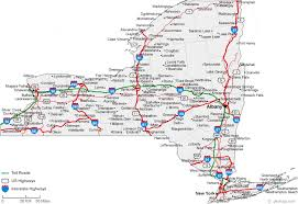 map of state of ny state of ny map with cities major tourist attractions maps