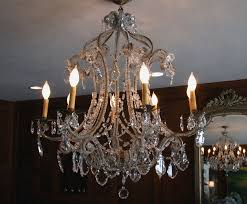 Chandeliers With Shades And Crystals by Crystal Chandelier With Shades Simple French Romantic Crystal