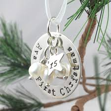 First Christmas Personalized Ornaments - keepsake ornaments
