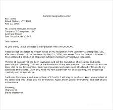 9 short notice resignation letters free pdf doc format