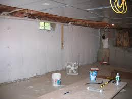Seal Concrete Walls Basements Drylock Basement Walls Home Design Styles