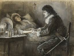 sick bed the sick bed by john butler yeats on artnet