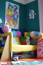 ikea spridd collection in this super colourful toddler bedroom