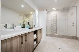 En Suite Bathrooms by The Barossa Ben Trager Homes Perth Display Home Master