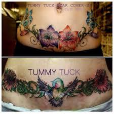 the design free access tattoo ideas cover up tummy tuck scar
