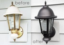 Exterior House Lights Fixtures Updating Exterior House Lights Ruby Redesign