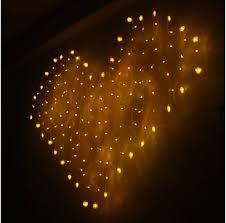 heart shaped christmas lights 2015 romance 2m x 1 5m led party christmas xmas heart shape string