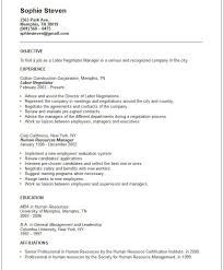 Example Objective For Resume General by General Resume Objective Samples Best 20 Resume Objective