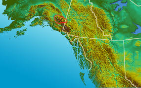 Wrangell Alaska Map by