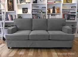 grey twill sofa slipcover grey tweed sofa slipcover www gradschoolfairs com