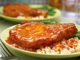 cuisiner cote de porc côtes de porc à l orange recettes de cuisine française