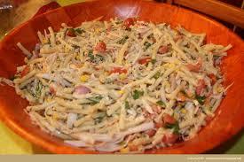 recette cuisine creole reunion recette salade de pâtes à la créole recette la réunion apprenez