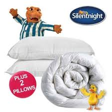 Silentnight 13 5 Tog Double Duvet Silentnight Warm Winter King Size Double Duvet 13 5 Or 15 Tog And