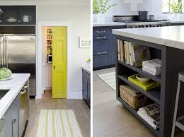 gray and yellow kitchens home design ideas