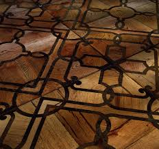solid parquet flooring glued antique oak inlaid mattonella
