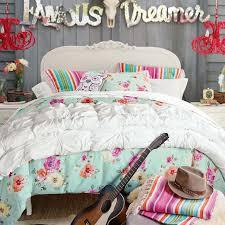 Pb Teen Bedrooms Junk Gypsy Country Blooms Duvet Cover Sham Pool Pbteen