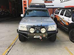 nissan pathfinder winch bumper xrox winch bumper bull bar for toyota landcruiser 100 series 1998
