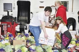 food basket delivery volunteers sought for food basket delivery community