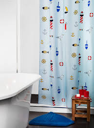 bar harbor shower curtain simons nautical decor anchor
