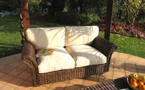 divanetti rattan divano 2 posti in rattan mobili etnici provenzali shabby chic
