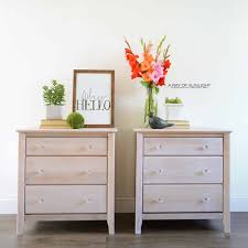 how to paint unfinished pine furniture how to whitewash wood to create a wood finish