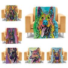 canap allemand maison de mode couvertures chien berger allemand lit canapé