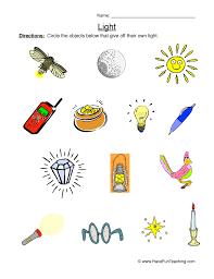 light energy experiments 4th grade energy worksheets have fun teaching