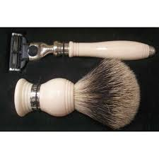 dalvey classic shaving set with stand ivory da769 fendess