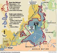 Utah Blm Map by Utah Not Ready To Sign Off On A Bears Ears Lands Swap The Salt