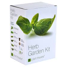 plant theatre herb garden kit 6 different herbs to grow