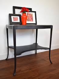 End Table With Shelves by Spade