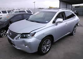 lexus rx 2013 2t2zk1ba0dc087015 salvage title silver lexus rx at wilmer tx on