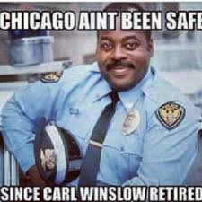Chicago Memes Facebook - chicago aint been safe since carl winslow retired