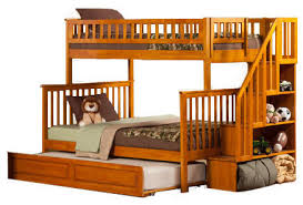 Stair Bunk Beds Woody Creek Stairway Bunk Bed With Stairs For Beds