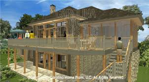 3d images for chp lg 3096 ga large hillside ranch 3d house plan