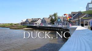 outer banks town spotlight duck nc youtube
