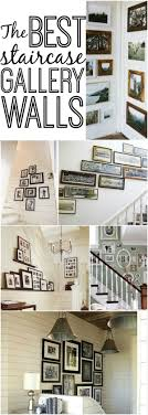 best gallery walls the best staircase gallery walls liz marie blog