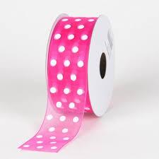 polka dot ribbon organza polka dot ribbon ribbons cheap