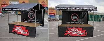 branded pop up gazebos market stall and pop up gazebo