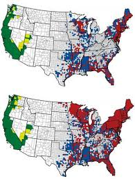 map of is states lyme disease carrying ticks are now in half of all u s counties