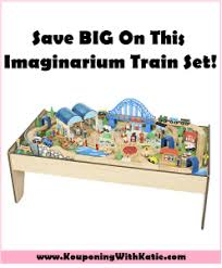 imaginarium train table 100 pieces big savings on this all in one train table 100 piece train set