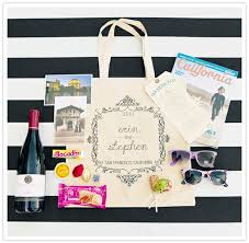 welcome bags for wedding wedding welcome bags 9 things you must include for guests