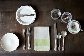 Setting Table Expert Advice How To Set The Table Courtesy Of Food 52 Remodelista