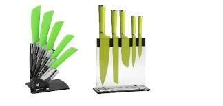 best lime green knife set for the kitchen