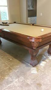 Gandy Pool Table Prices by Beautiful 8ft Customer Gandy Professional Pool Table Like New W