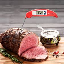 instant read digital cooking thermometer digital electronic meat
