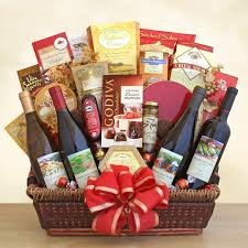wine and cheese gift baskets california ultimate gourmet wine gift basket hayneedle